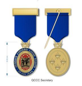 New QCCC Jewel - Local Secretary