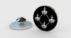 QCCC - Lapel Badge Black