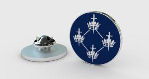 QCCC - Lapel Badge Blue